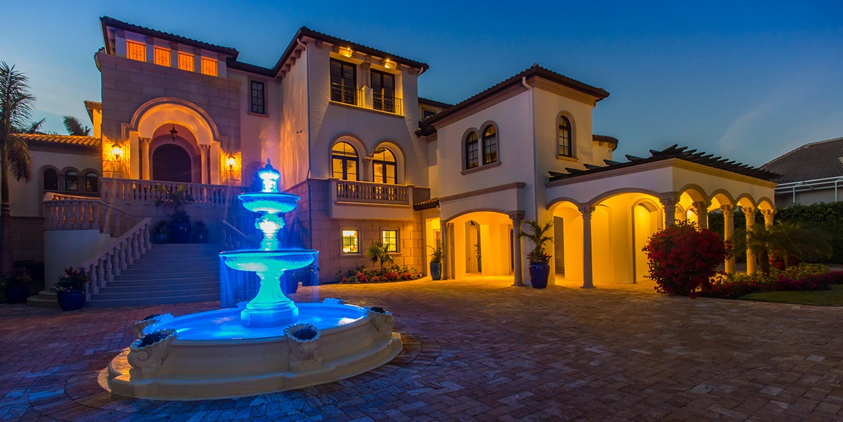 Exterior Lighting for Landscape | Amplex Technology Services