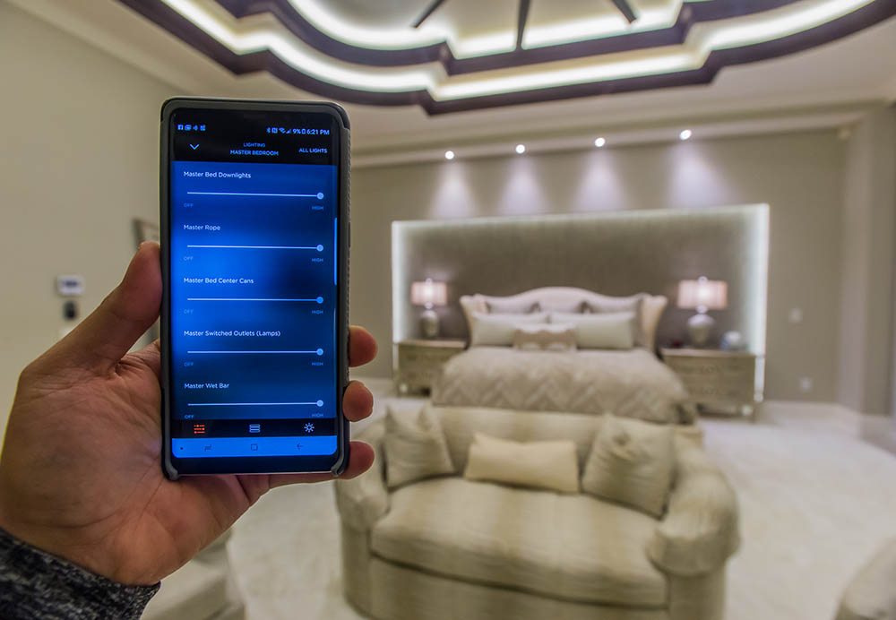 Lighting Smart Home Automation | Amplex Technology Services
